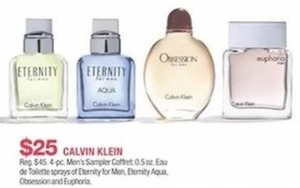 Calvin Klein Men's Sampler