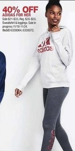 Adidas For Her Sweatshirt and Leggings