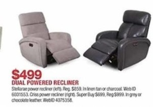 Dual Powered Recliner