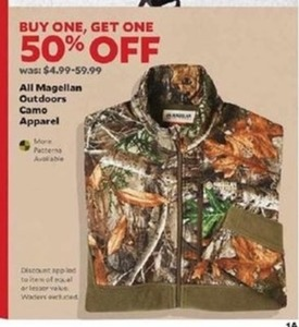 Magellan Outdoors Camo Apparel