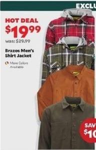 Brazos Men's Shirt Jacket