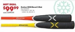 Easton 2018 Beast X Bat