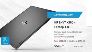 HP Envy x360 13z Laptop