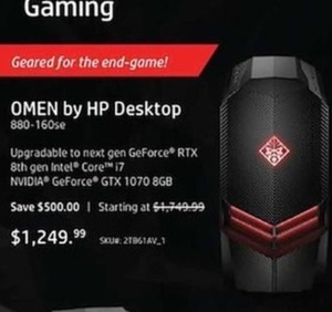 Omen by HP Desktop