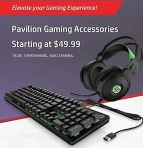 Pavilion Gaming Accessories