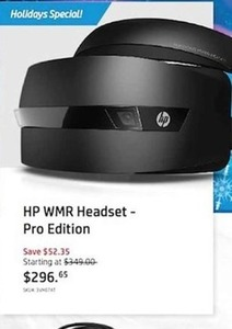 HP WMR Headset - Pro Edition