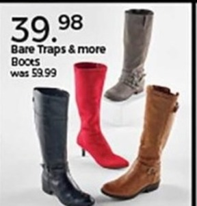 Bare Traps Boots and More
