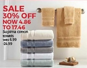 Supima Cotton Towels