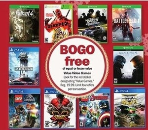 Select Video Games Priced at $19.99