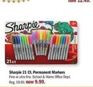 Sharpie 21 Ct. Permanent Markers