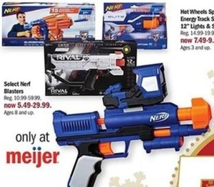 Select Nerf Blasters