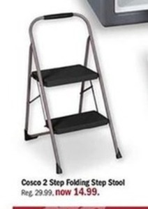 Cosco 2 Step Folding Step Stool