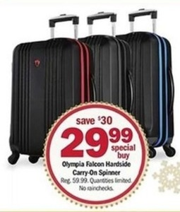 Special Olympia Falcon Hardside Carry-On Spinner