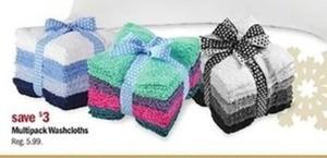 Muitipack Washcloths