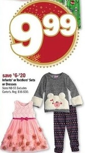 Infants' or Toddlers' Sets or Dresses