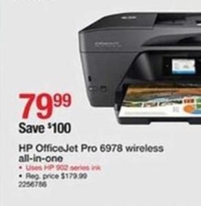 HP OfficeJet Pro 6978 Wireless All-in-One