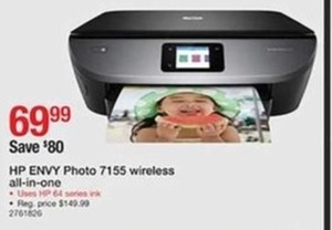 HP Envy Photo 7155 Wireless Printer