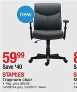 Staples Traymore Chair