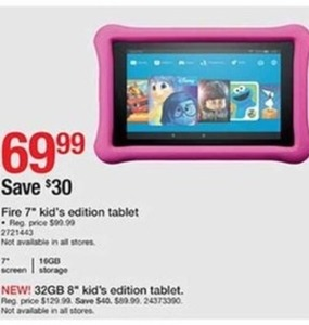 "Fire 7"" Kids Edition Tablet"