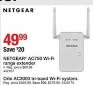 Orbi AC3000 Tri-Bank Wi-Fi System