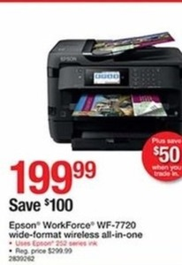 Epson WorkForce Wide-Format Wireless All-in-One