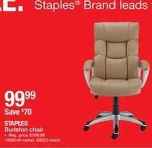 Staples Burlston Chair