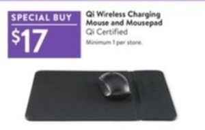 Qi Wireless Charging Mouse and Mousepad