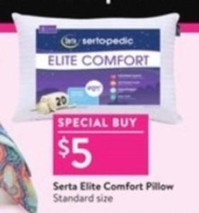 Serta Elite Comfort Pillow