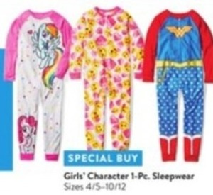 Girls' Character 1 Pc. Sleepwear