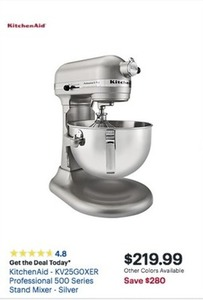 KitchenAid Professional 500 Series Stand Mixer