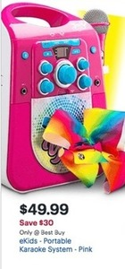 eKids Portable Karaoke System