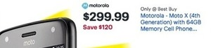 Motorola Moto X with 64GB Memory Cell Phone