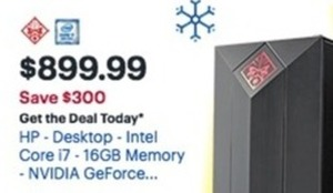 HP Desktop 16GB Memory 256GB Hard Drive