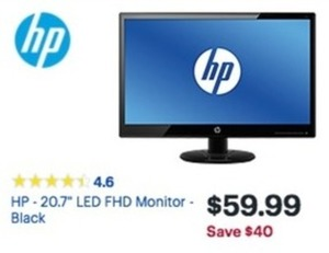 "HP 21"" LED FHD Monitor"