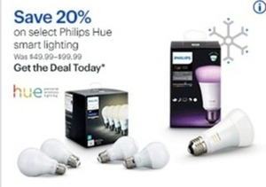 Select Philips Hue Smart Lighting