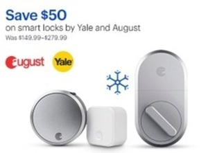 Smart Locks By Yale And August