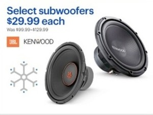 Select Kenwood Subwoofers