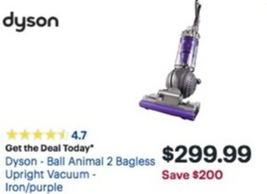 Dyson Ball Animal 2 Bagless Upright Vacuum