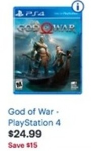 God Of War Play Station 4