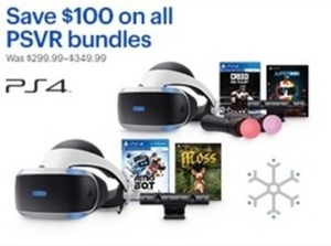 All PSVR Bundles