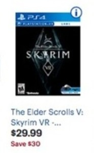 The Elder Scrolls V: Skyrim VR PS4