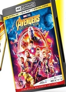 The Avengers: Infinity War 4K Ultra DVD