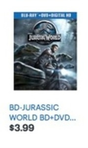 Jurassic World Blu-ray + DVD