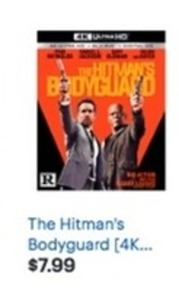The Hitman's Bodyguard 4K Ultra HD + Blu-ray + Digital
