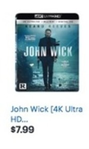 John Wick 4K Ultra HD Blu-ray