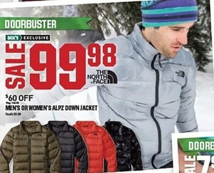 Men's or Women's Alpz Down Jacket