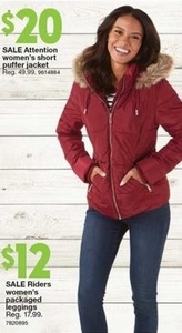 Attention Women's Short Puffer Jacket