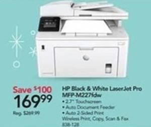 HP Black & White LaserJet Pro Printer