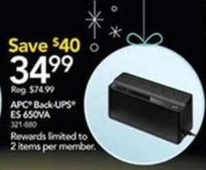APC Back-UPS ES 650VA
