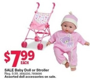 Baby Doll or Stroller